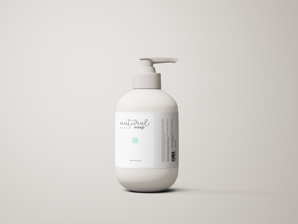 46.Liquid Soap Bottle Mockup1