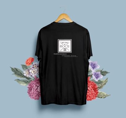 博舍國際室內裝修-T-Shirt Back-02-BK-展示